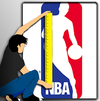 Late Growth Spurts, NBA Players - Tall Height