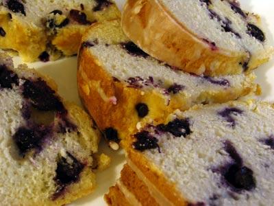 Easy Blueberry Bundt Cake