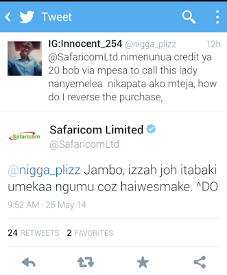 Hilarious Posts: If Safaricom Was To Use 'Sheng' Instead Of English