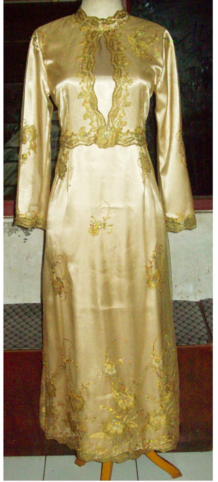 Foto Model Baju Kebaya Gamis