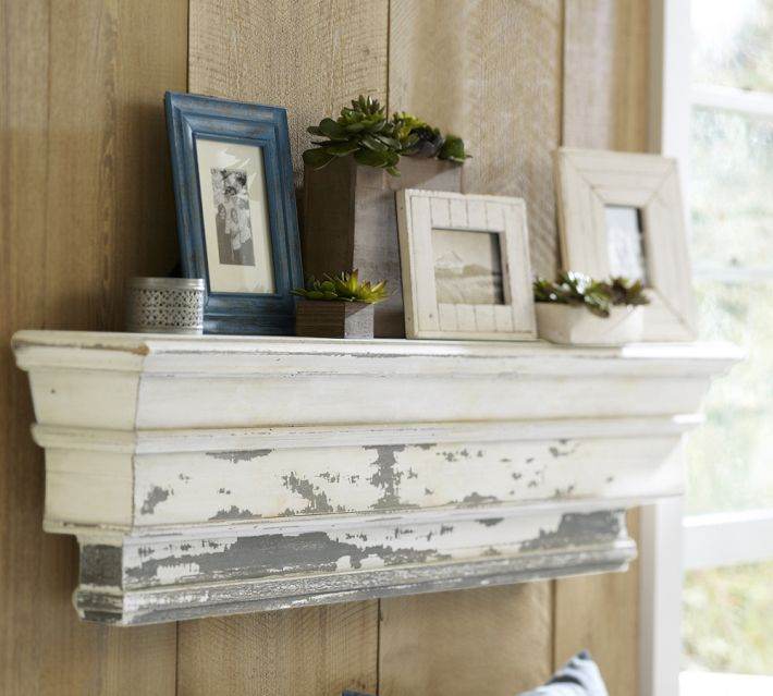 Pottery Barn Decorative Ledge