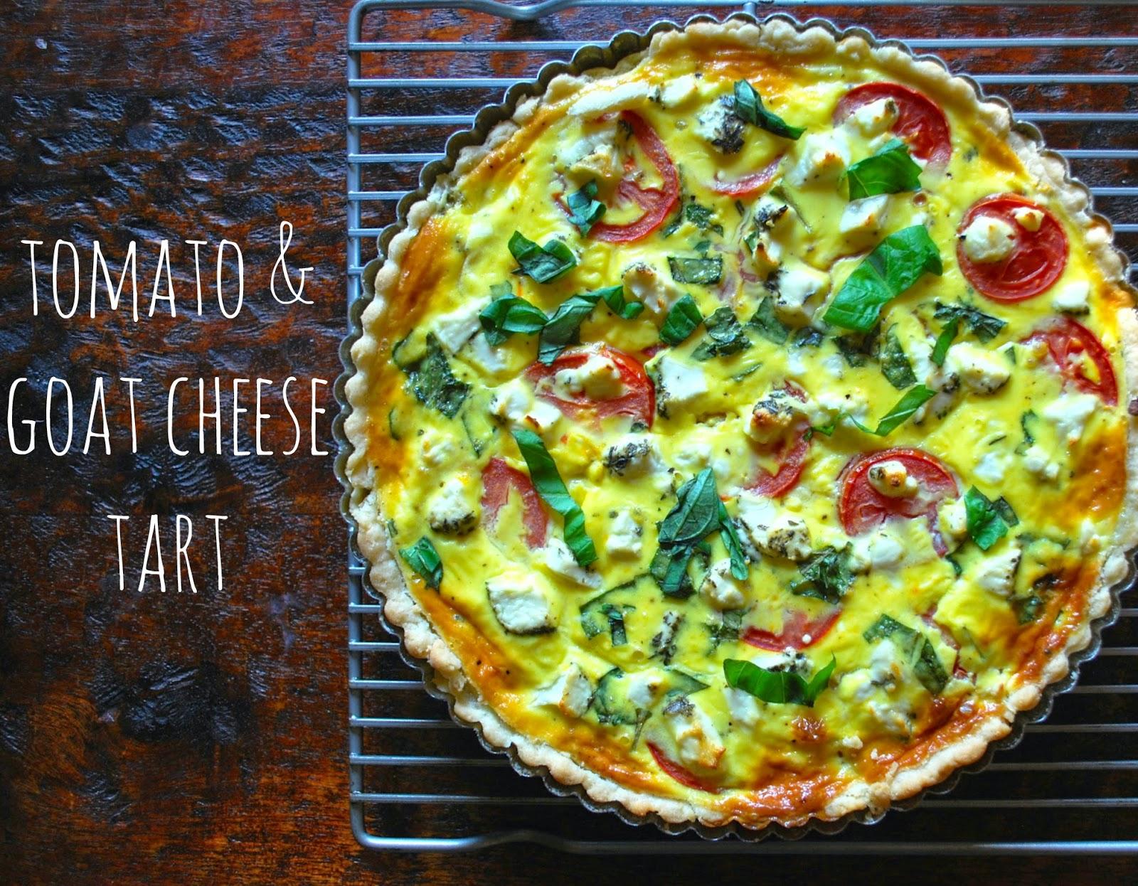 Tomato & Goat Cheese Tart | Bevy Richmond