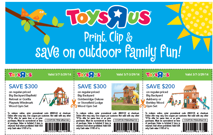 photo regarding Printable Toysrus Coupon named Toys R Us Printable Coupon codes September 2015