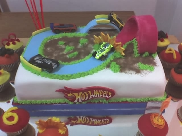 Tortas Hot Wheels, parte 2