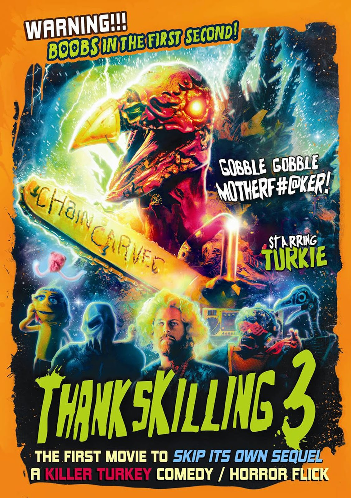 Dvd review thankskilling 3