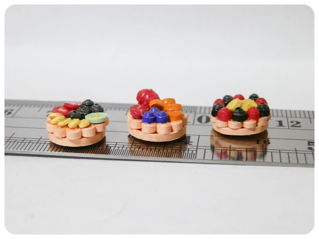 Miniature Fruit Tarts