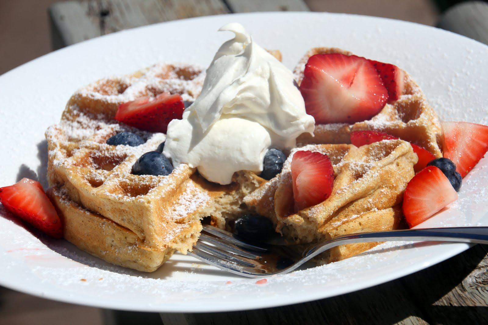 Earning Your Apron: Cinnamon Belgian Waffles