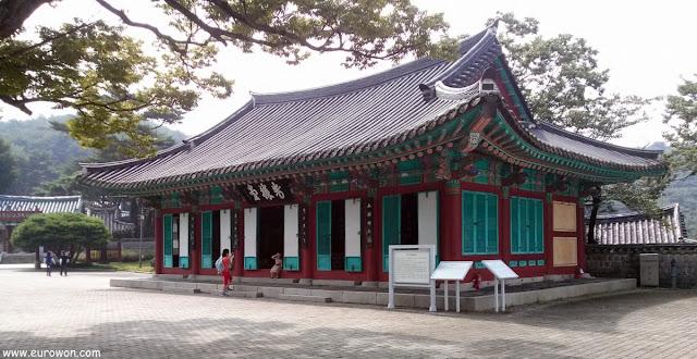 Pabellón de homenaje al almirante Yi Sun-sin en Hansando
