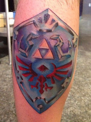 Hylian Shield Tattoo Tatuagem
