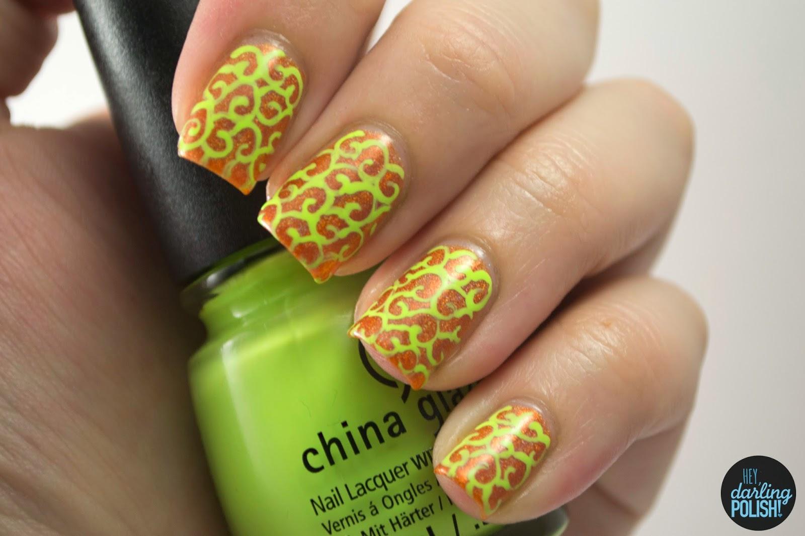 nails, nail art, nail polish, polish, indie, indie nail polish, indie polish, lynbdesigns am i ginger?, swirls, hey darling polish, the never ending pile challenge