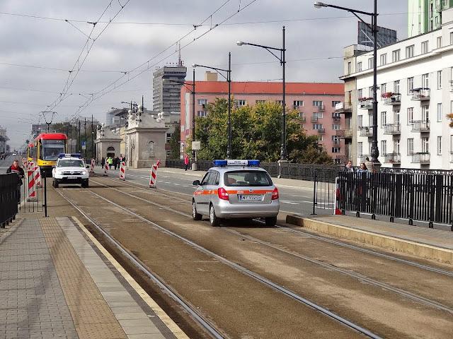 Tramwaje na moście Poniatowskiego
