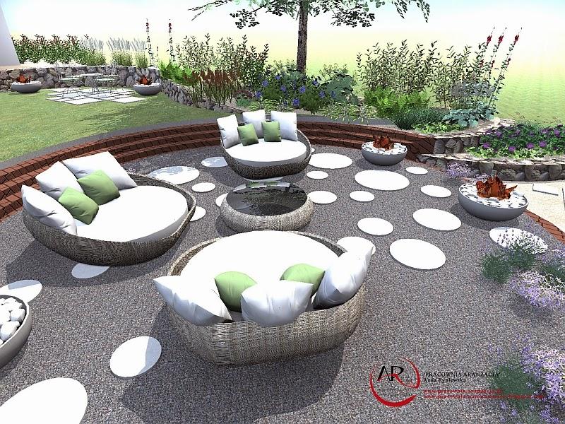 projekt ogrodu tarasowego