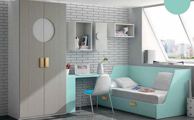 habitaciones color verde turquesa – Dabcre.com