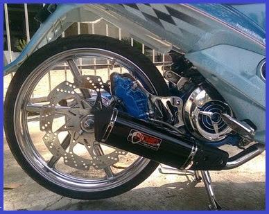 Foto Modifikasi Motor Yamaha New Jupiter Mx