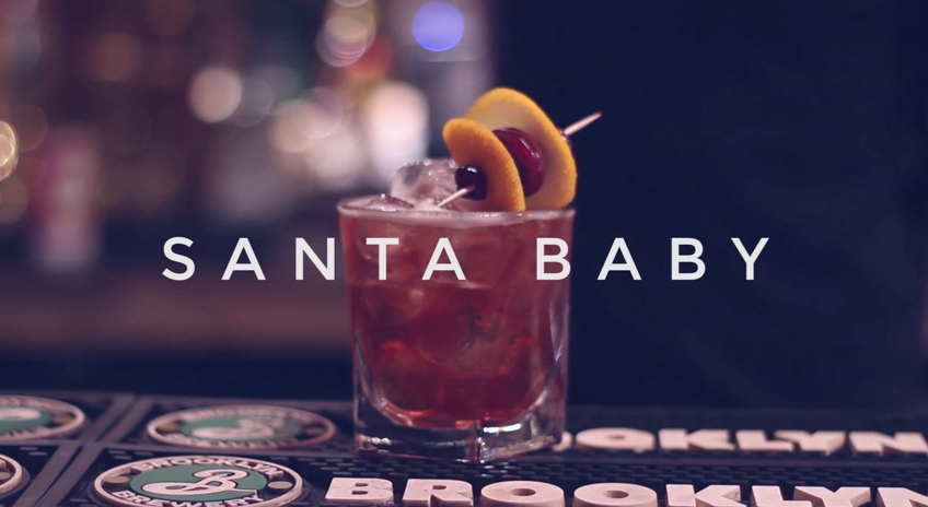 Christmas Cocktail Recipe For Santa Baby
