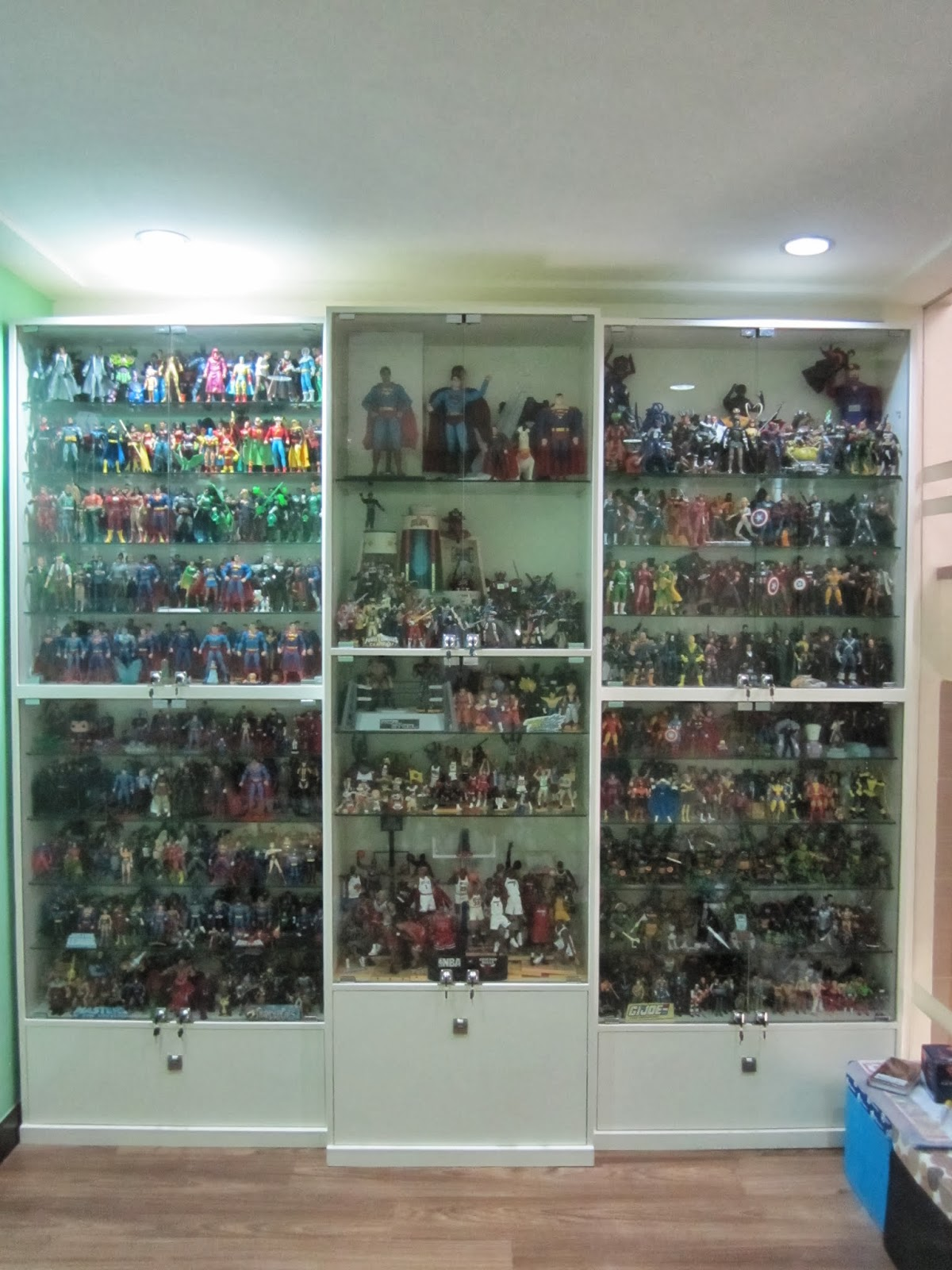 Charmant A Look At My Toy Collection Display Cabinet