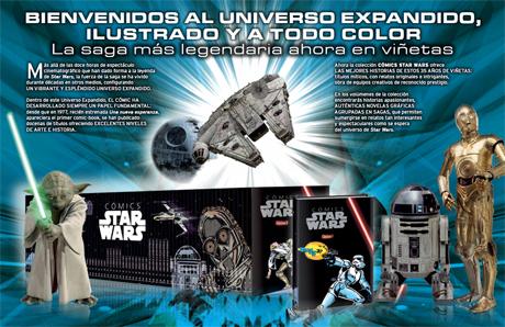 Colección Cómics Star Wars Planeta