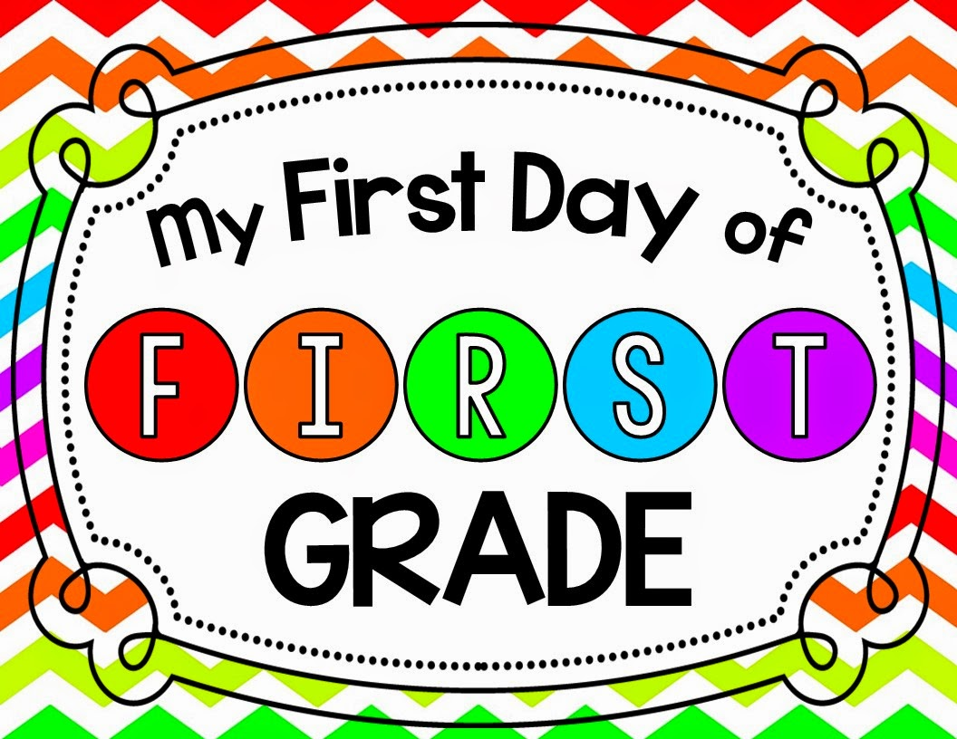 mrs gilchrist s class first day of first grade sign bie don t forget to enter my raffle right here for a three month subscription to farfaria this is a sweet prize