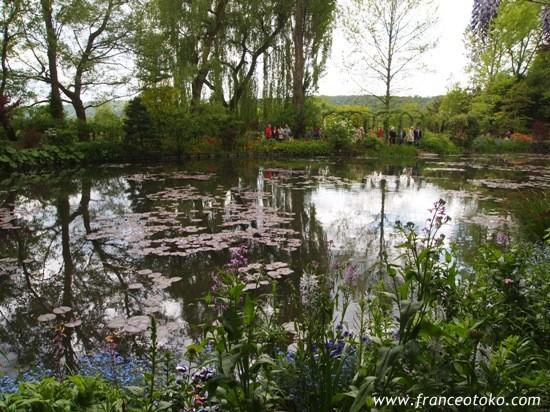 フランス・ノルマンディ・ジヴェルニー・クロード・モネの家、印象派画家巨匠、モネの庭、ノルマンディ・ジヴェルニー観光名所