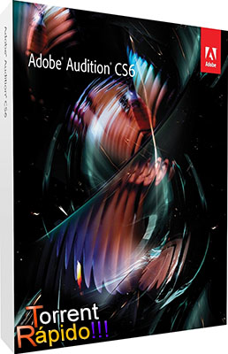 Download da Capa 3D do Programa Adobe Audition CS6 BY Torrent Rápido!!!