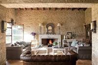 Diseño de interiores salón confortable