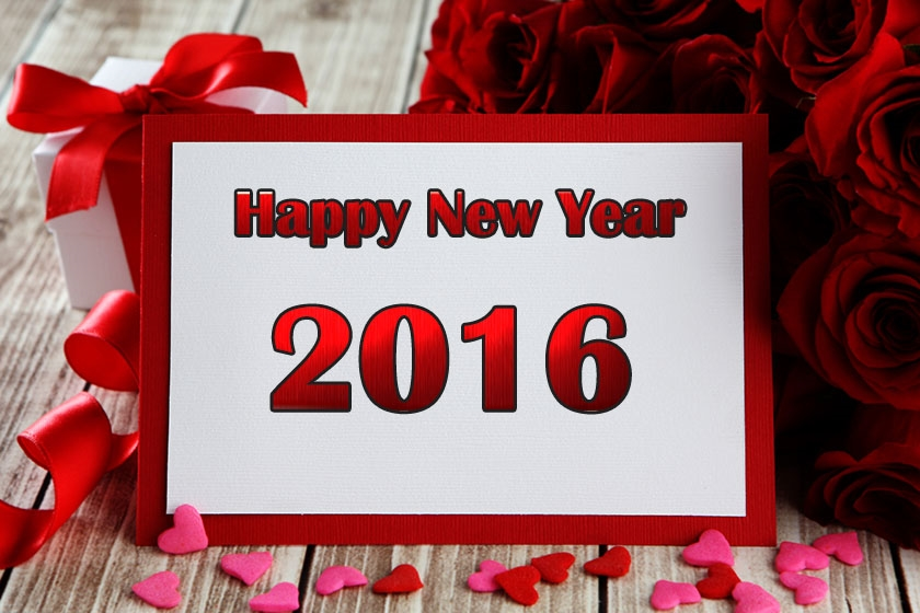 New Year 2016 Lovely Greetings eCards