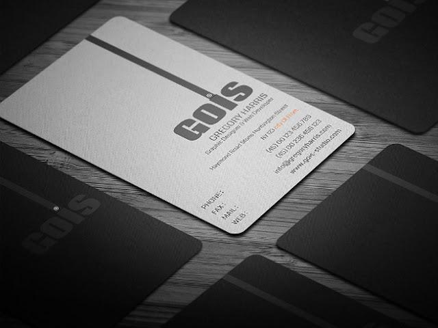 mẫu name card sang trọng 3