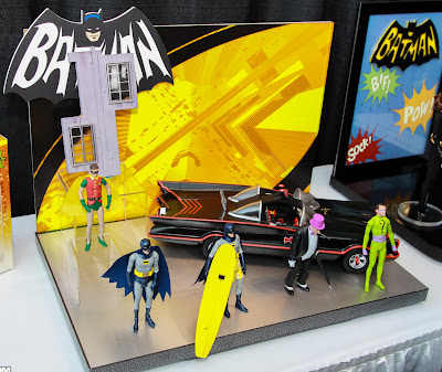 Mattel 2013 Toy Fair Display Pictures - Classic 1960's Batman figures