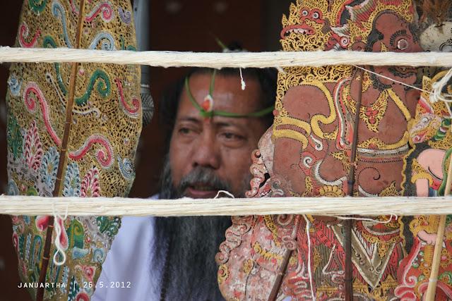 bali culture image : Wayang Sapuh Leger