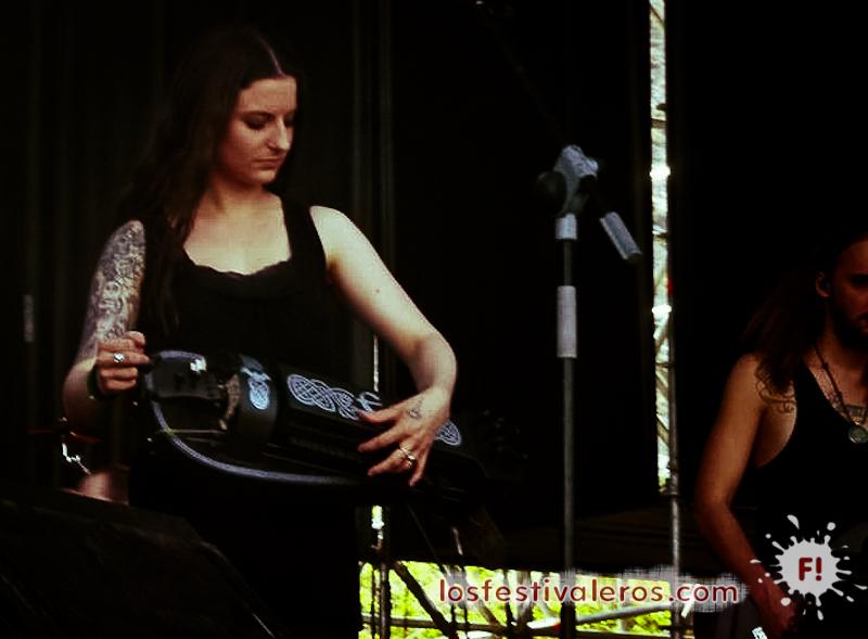Eluveitie. Festival Leyendas del Rock 2014