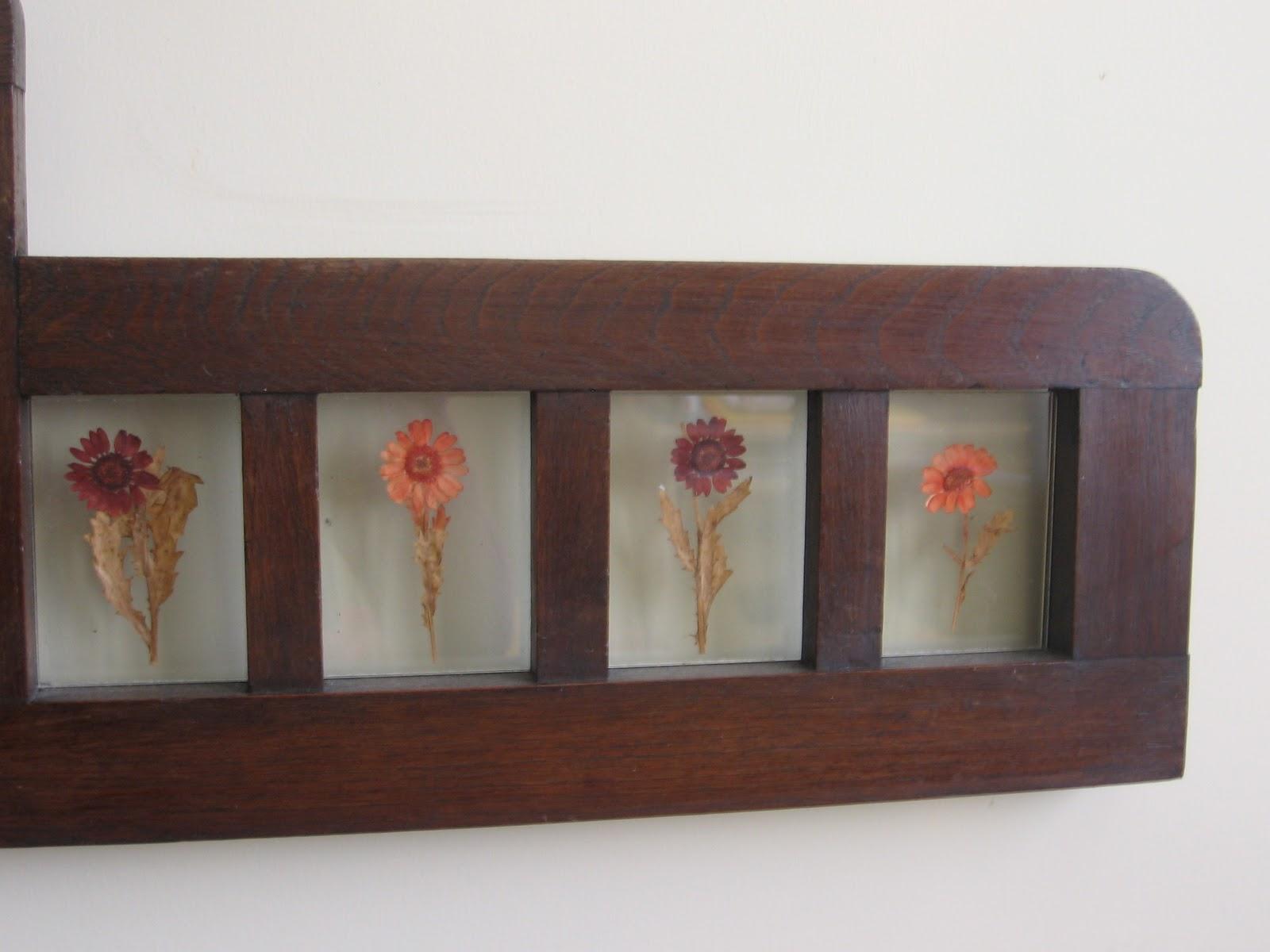 Elrincondelasmilcositas flores secas for Decorar pared cabecero cama matrimonio