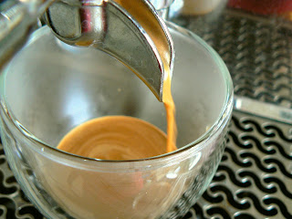 Espresso shot from my Bezzera Giulia