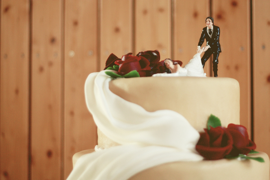 Cricket Batman Wedding Cake Toppers