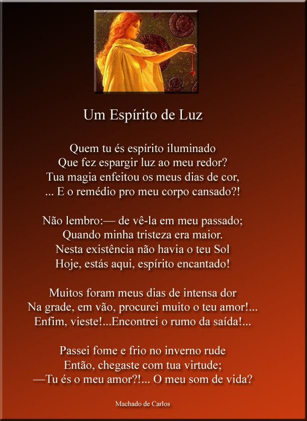 Lindo presente de Machado de Carlos - Poeta do Amor e Luz!