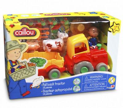 JUGUETES - CAILLOU Tractor con animales | Vehículo + Figuras - Muñecos Producto Oficial 2015 | Giochi Preziosi | A partir de 3 años Comprar en Amazon España