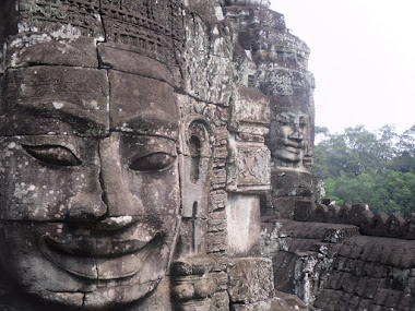 The Bayon, Angkor, Cambodia.