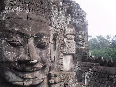 The Bayon, Angkor, Cambodia.