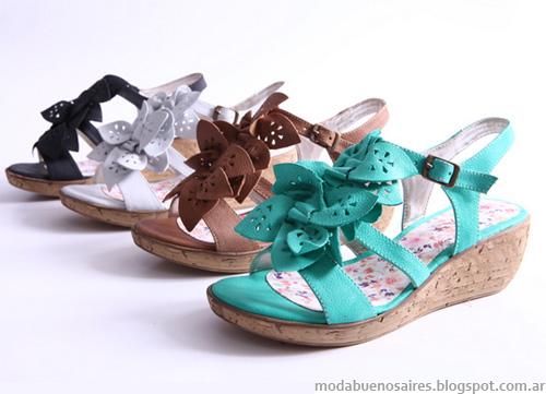Heyas verano 2013. Moda sandalias.