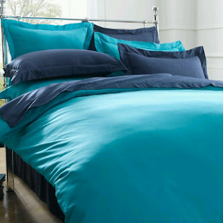 Sprei Polos Biru Tosca Dan Biru Tua