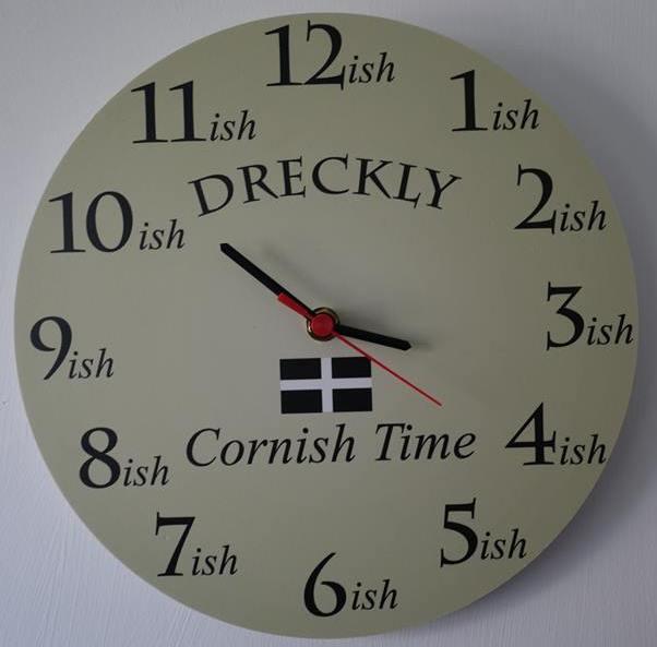 Cornish time...