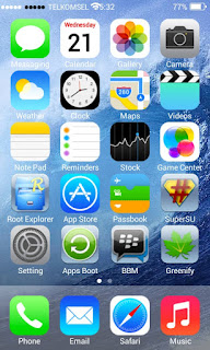 CUSTOM ROM Iphone IOS 7 for Lenovo A369I ODEX + DEODEX