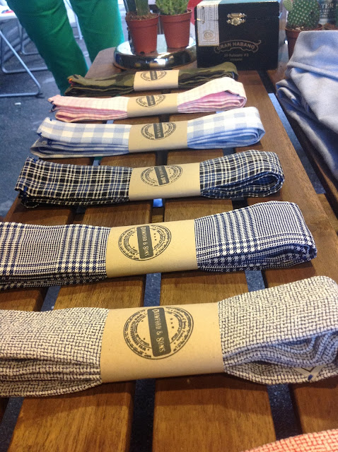 knitted ties from Crawford and Sons