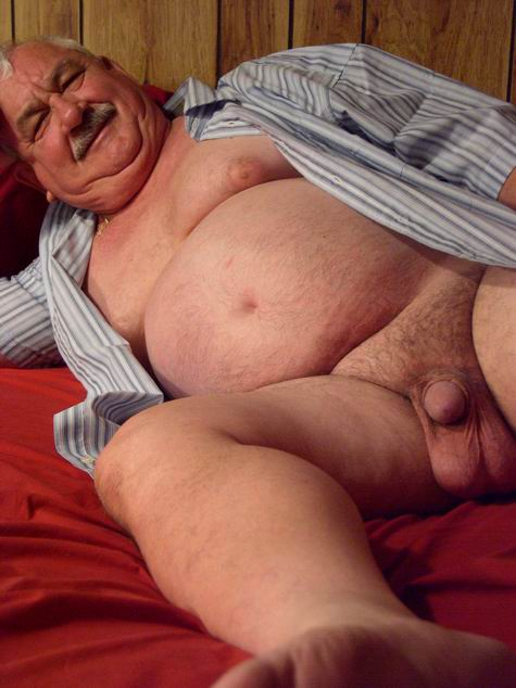 Chubby Hairy Men Gay Silver Daddies