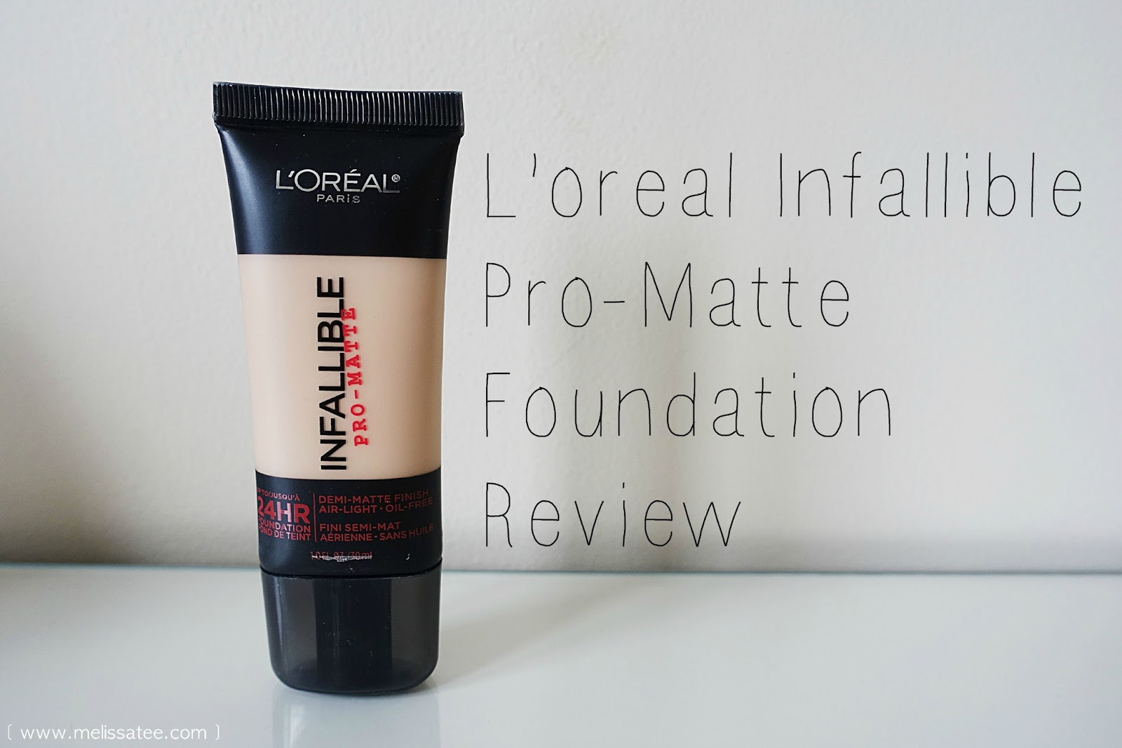 The Blushing Introvert Loreal Infallible Pro Matte Foundation Review
