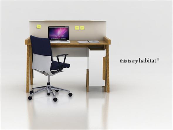 Minimalist Home Office Desk Furniture Ideas Interior