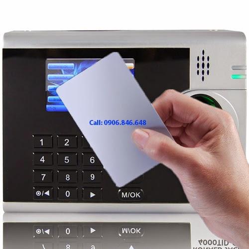 Thẻ cảm ứng dùng cho máy chấm công Ronald Jack