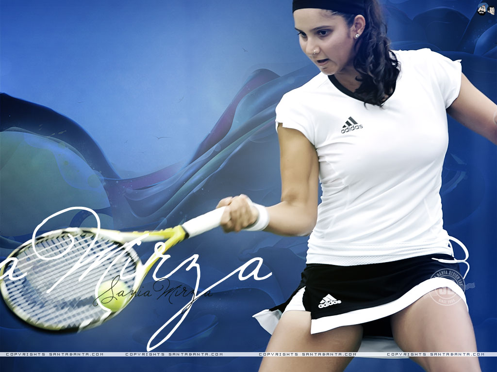 Sania mirza sexy wallpapers