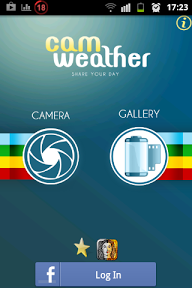 App Android CamWeather : Add Info Sea In the picture