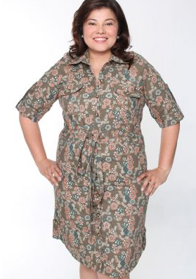 plus size dress zalora online