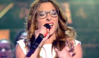 Raquel canta Bridge la voz directos